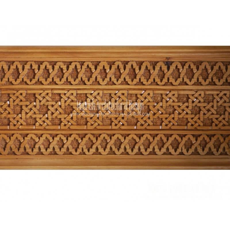Moorish Architectural Wood Carving