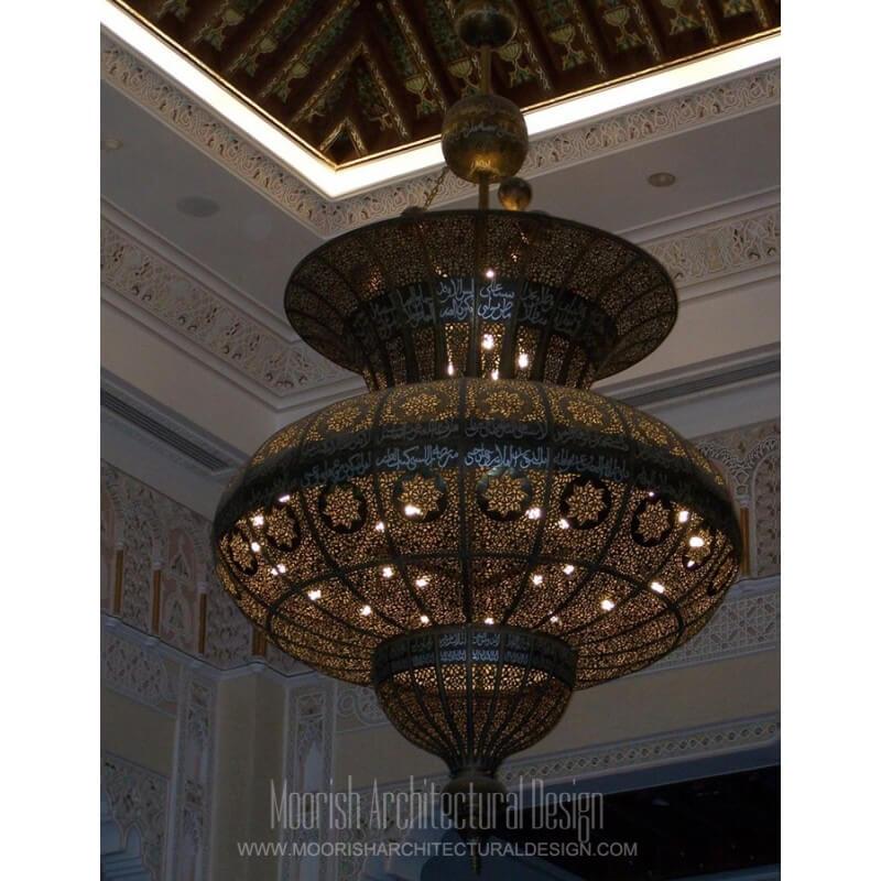 Manufacturer of custom Moorish lighting