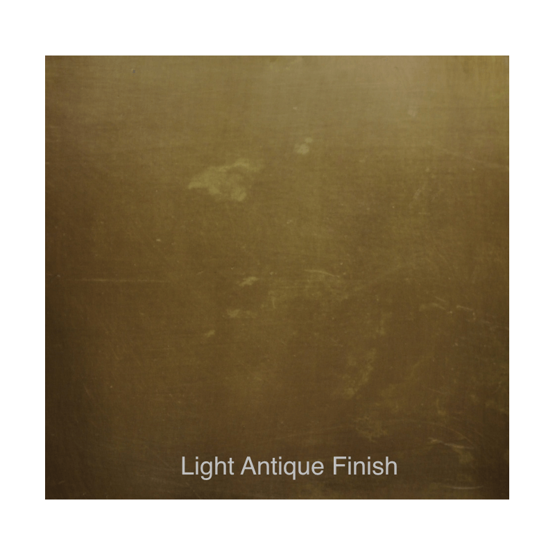 Light Antique Finish
