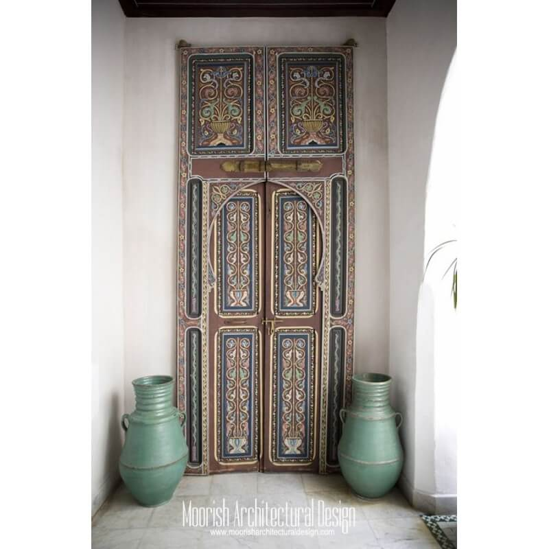 Moroccan Bedroom Door