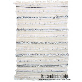 White Moroccan Wedding Blanket