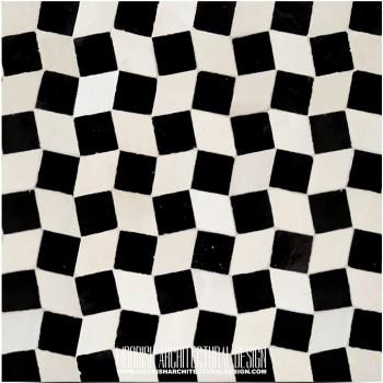 Moroccan Monochrome Tile 02