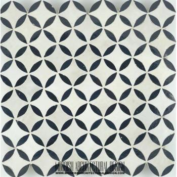 Moroccan Monochrome Tile 04