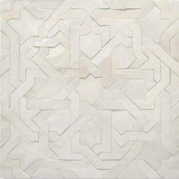 White Moroccan Tile 03