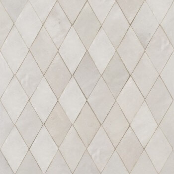White Moroccan Tile 04