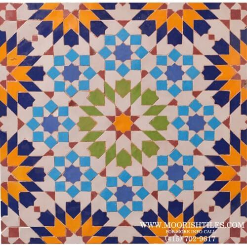Moroccan Tile Shop Los Angeles California
