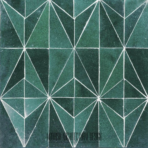Green Diamond Tile