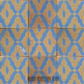 Rustic Moorish Tile 23