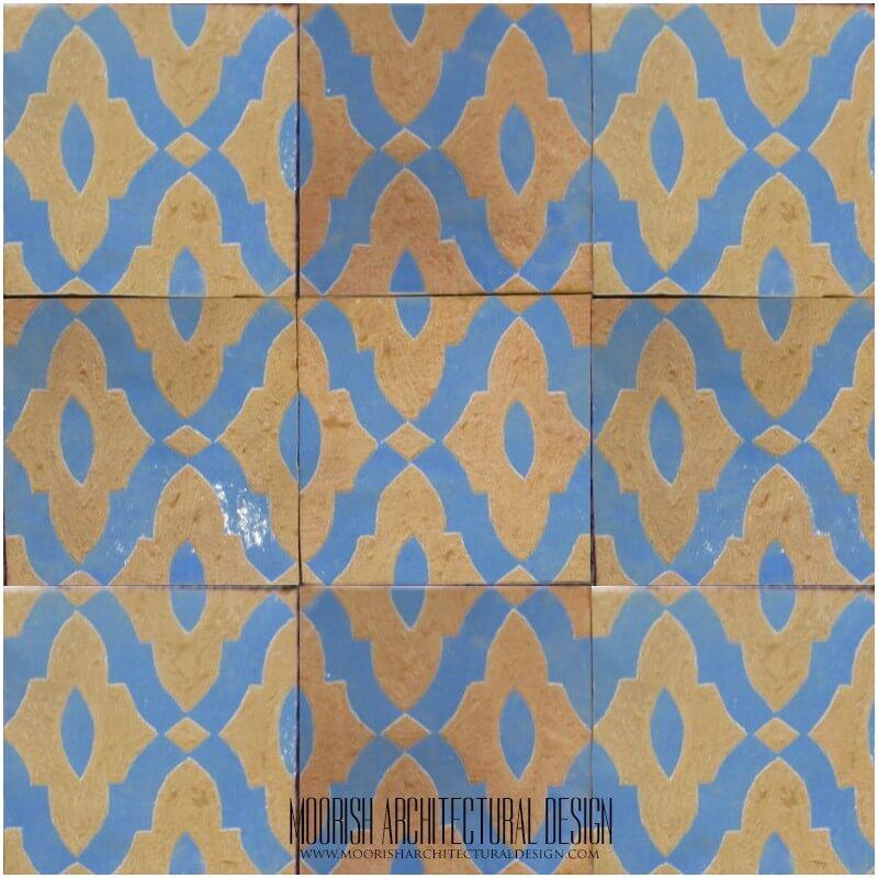 Rustic Spanish kitchen tile Ideas