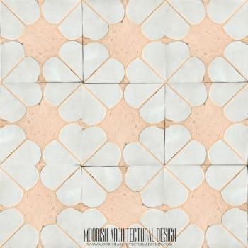 Rustic Moorish Tile 25