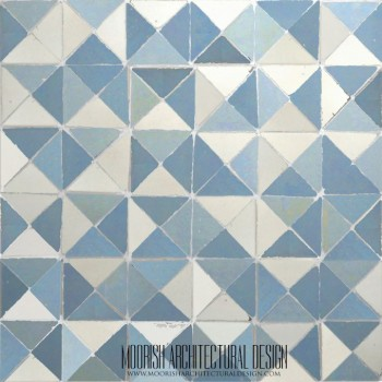 Sky Triangles Tile