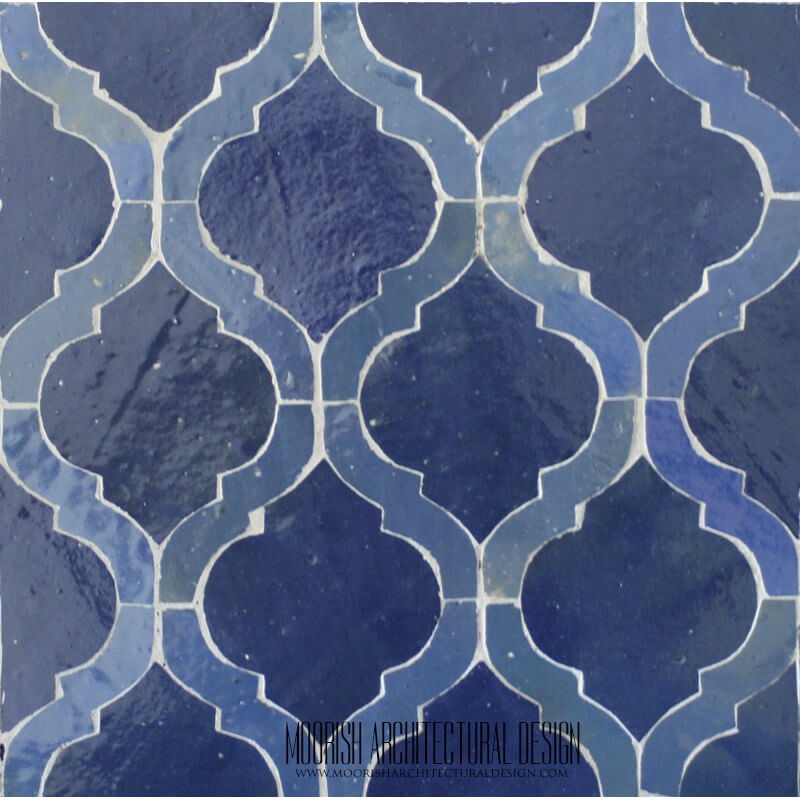 Arabesque Tile Blue