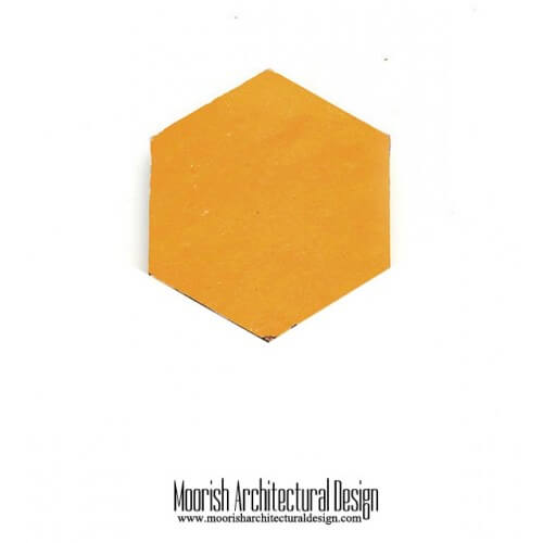 Yellow Hex Tile