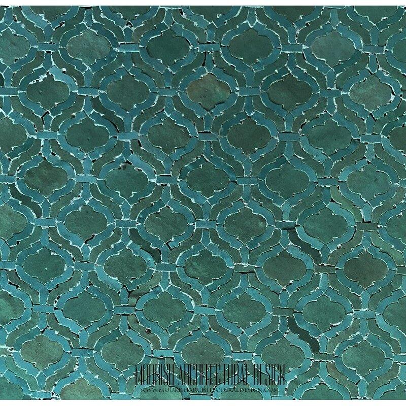 Arabesque Tile Floor