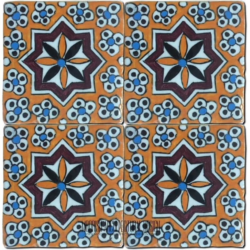 Portuguese Pool Waterlines Tile