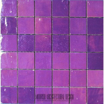 Purple Moroccan Tile