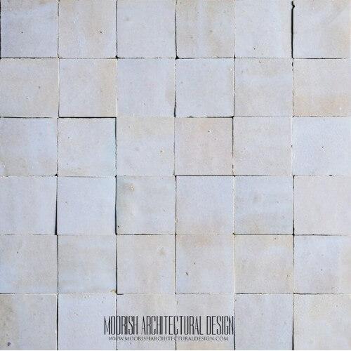 Dirty White Moroccan Tile