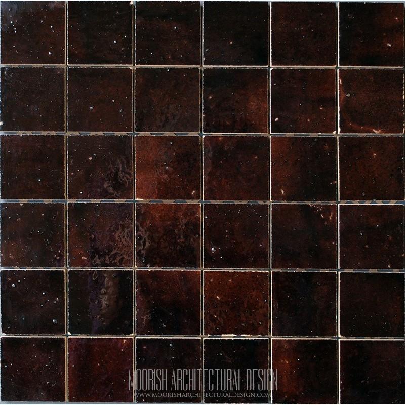 Brown Moroccan Tile