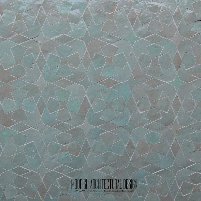 Mint Green Moroccan Tile