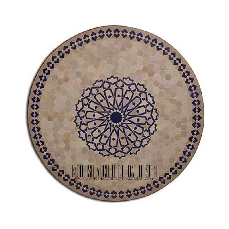 Moroccan Patio table