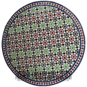 Moroccan Mosaic Table 03
