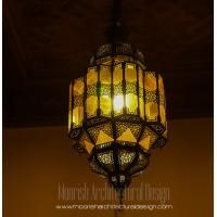 Moroccan Glass Lantern