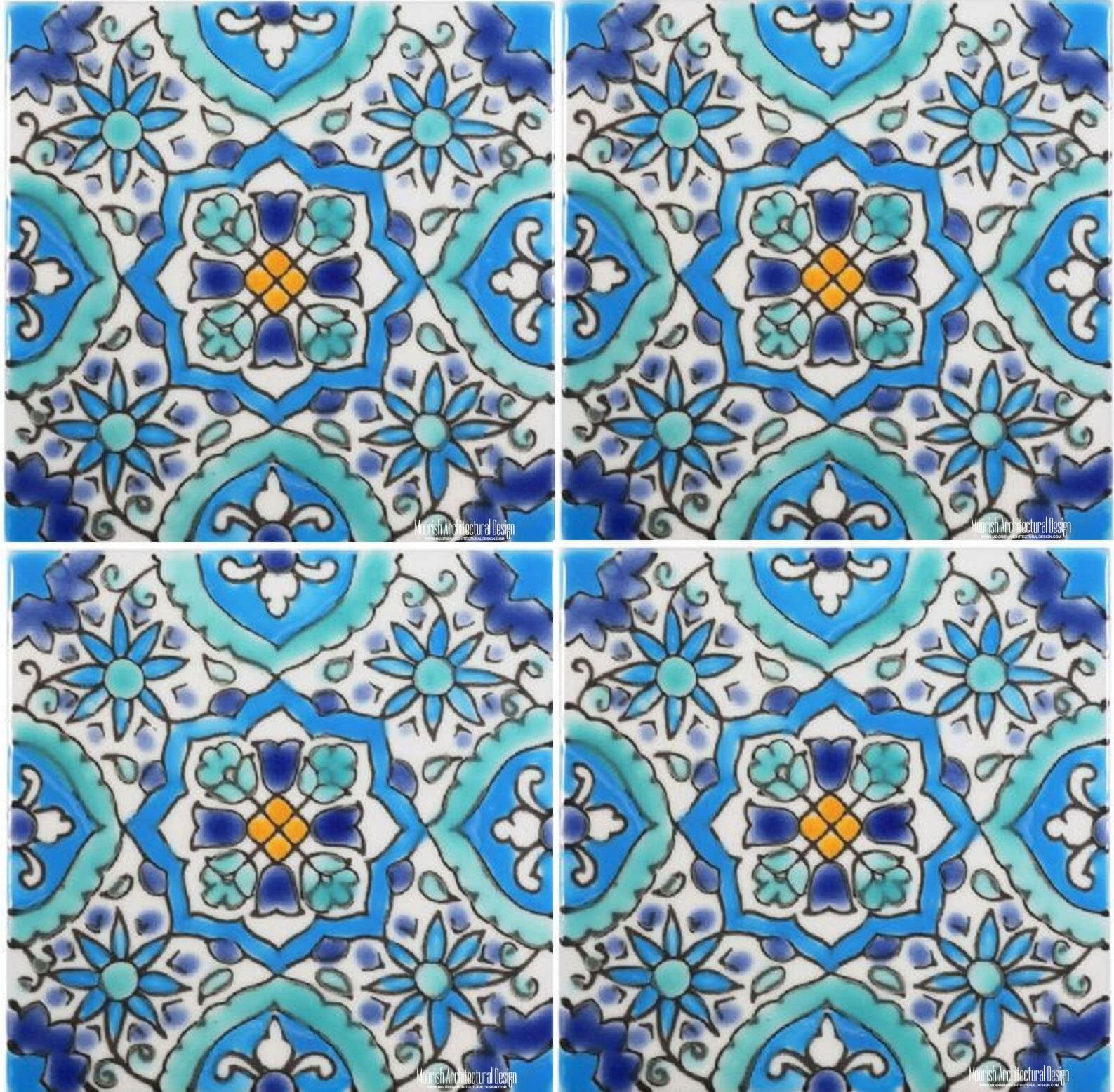 Pool ceramic tile