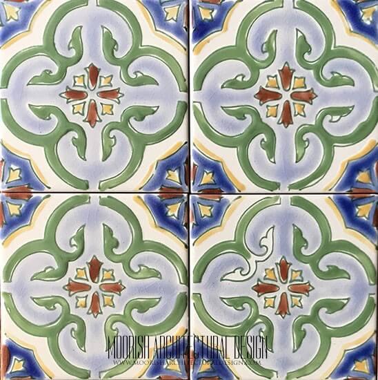 Mediterranean ceramic tile
