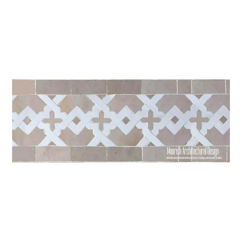 Spanish mosaic pool tiles
