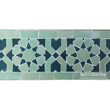Moroccan Border Tile 86