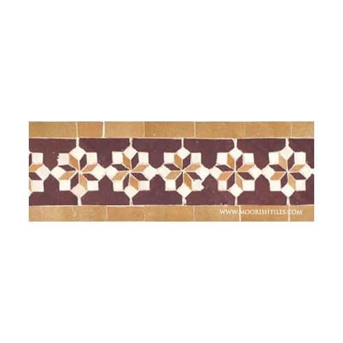 Moroccan Border Tile 90