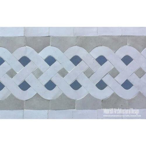 Moroccan Border Tile 92