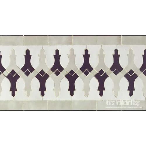 Moroccan Border Tile 93