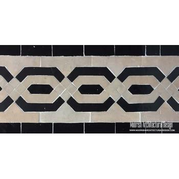 Moroccan Border Tile 110