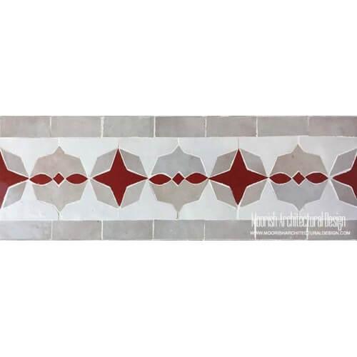 Moroccan Border Tile 115
