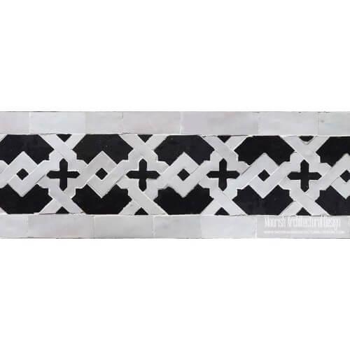 Moroccan Border Tile 117