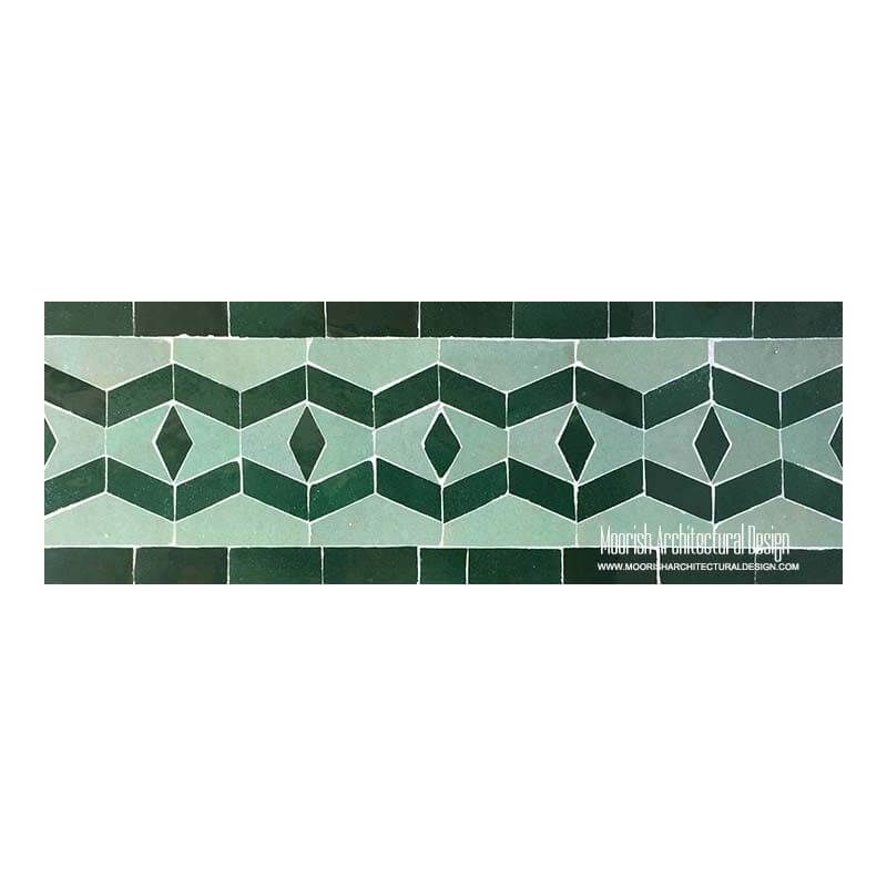 Spanish colonial pool tiles