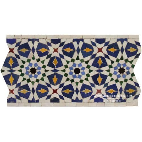 Moroccan Border Tile 125