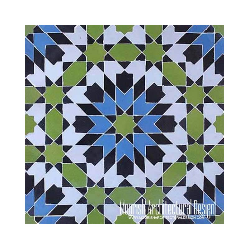 Kitchen Backsplash: Moorish Tile