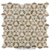 Rustic Moroccan ceramic tiles