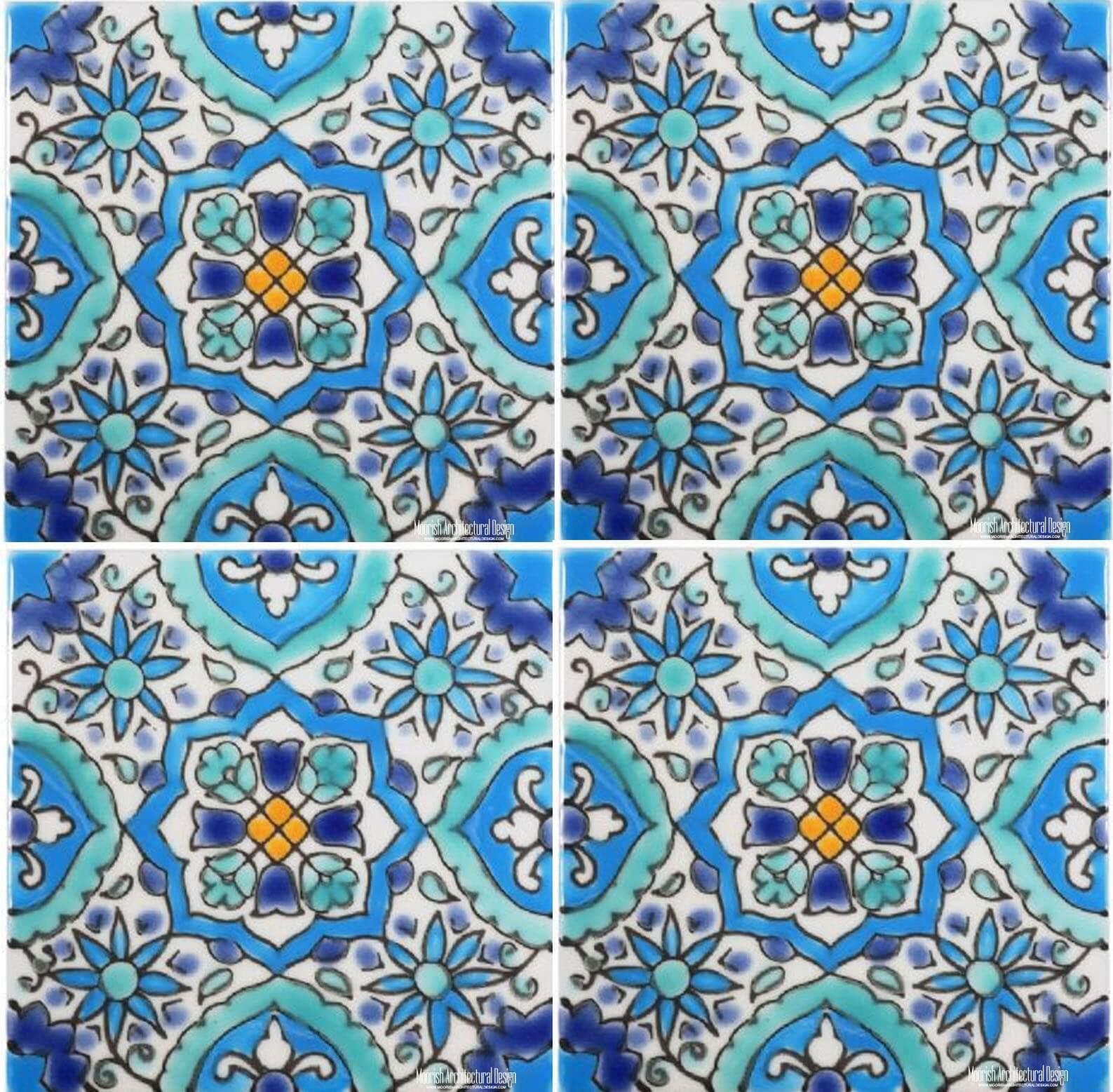 Mediterranean Kitchen Tiles Los Angeles California