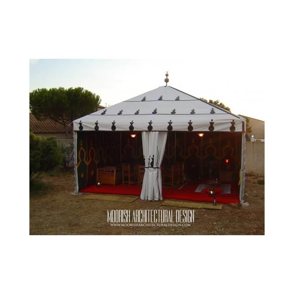 Garden gazebo exotic garden tent moroccan tent for Garden tents