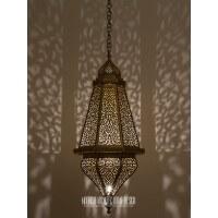 Moorish Foyer lighting