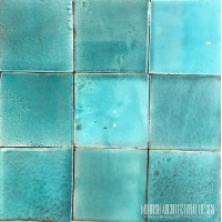 Moroccan Aqua Green Pool Tiles
