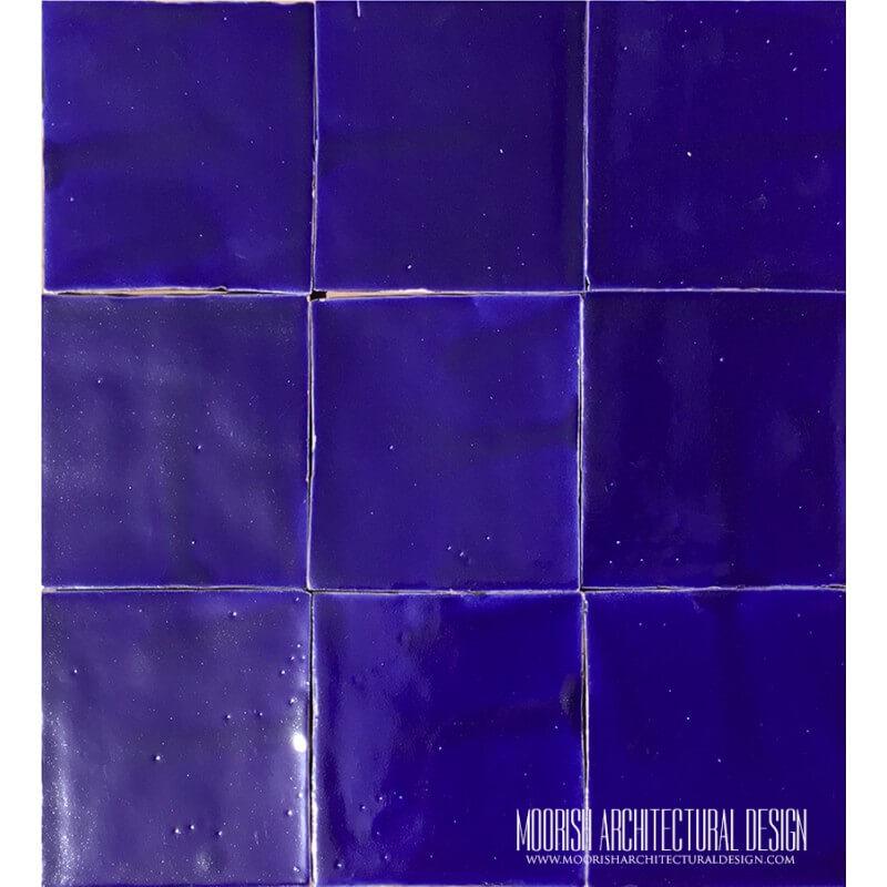 Moorish Blue Pool Tiles