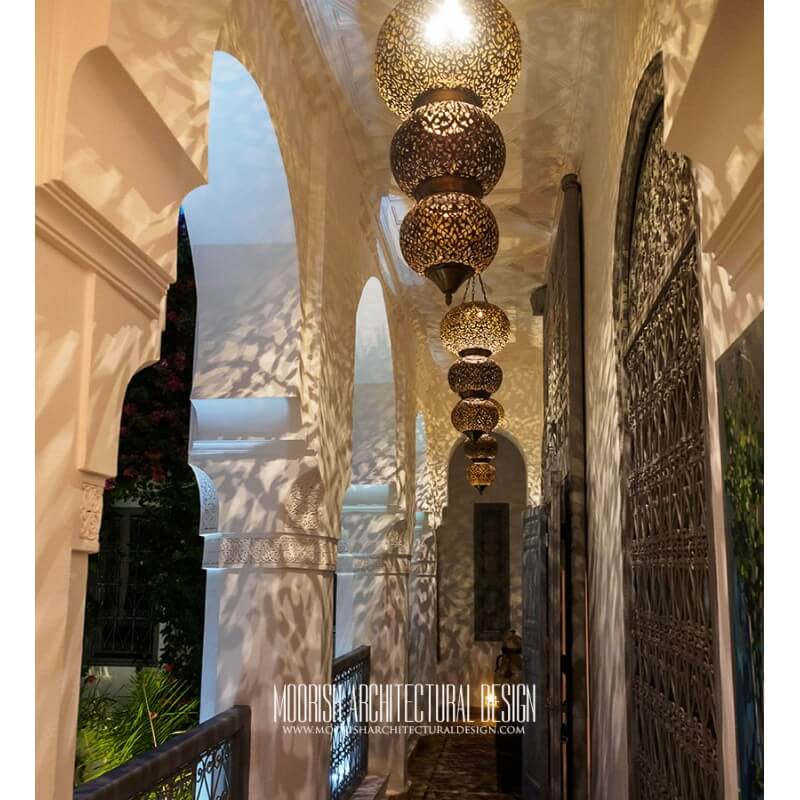 Moorish hotel lighting supplier