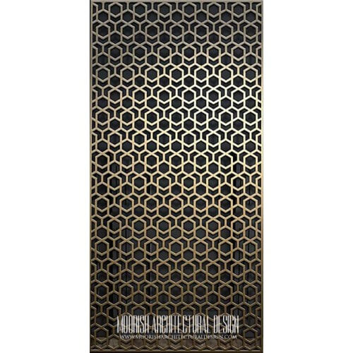 Metal Lattice Screen 03