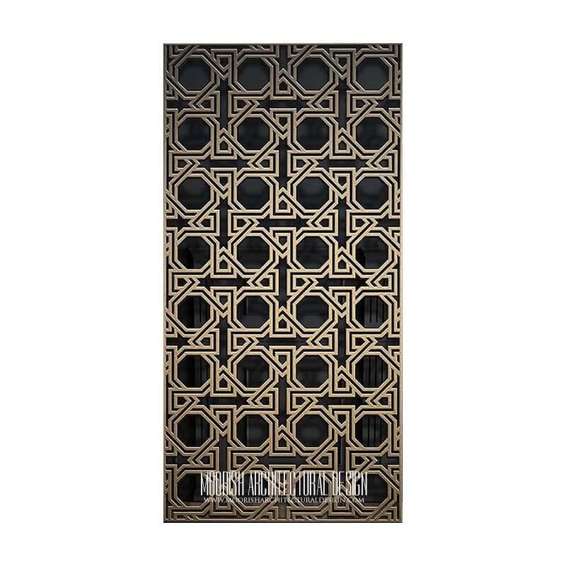 Islamic Jali Screen Pattern