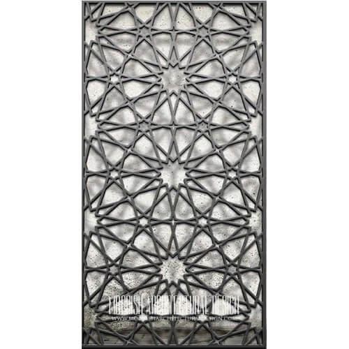Metal Lattice Screen 06