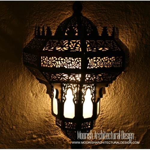 Traditional Moroccan Sconce 22